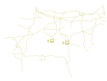 overlay for railroads across states