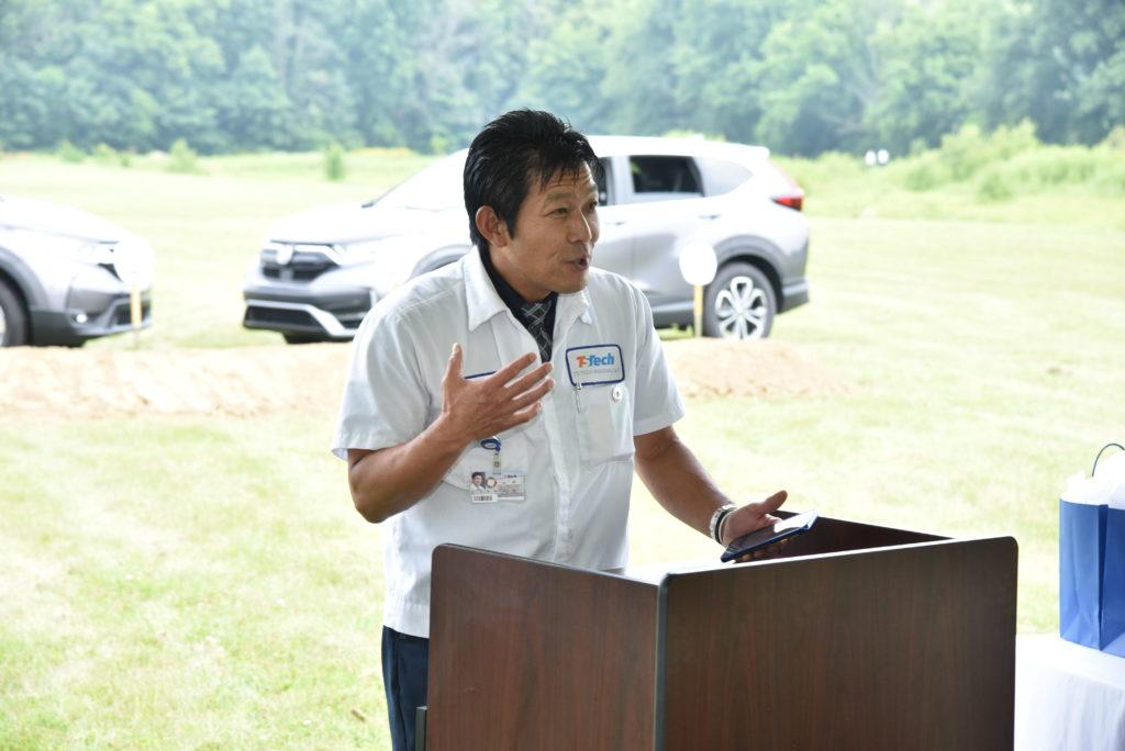 Minoru Uda, TS Tech Indiana President